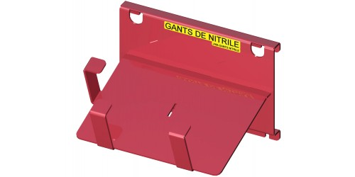 "Nitrile glove box 2 1/2"" X 4 7/8"" support"
