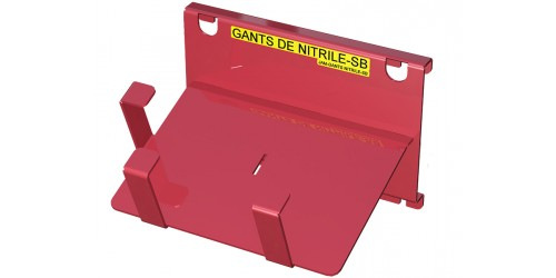 "Nitrile glove box 2 3/4"" X 4 7/8"" support"